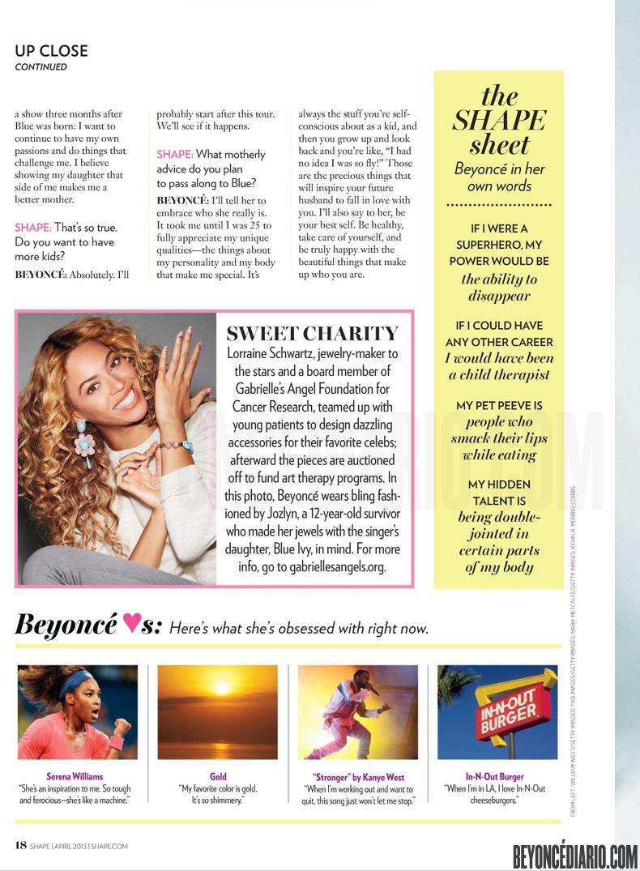 Shape magazine Avril 2013 7