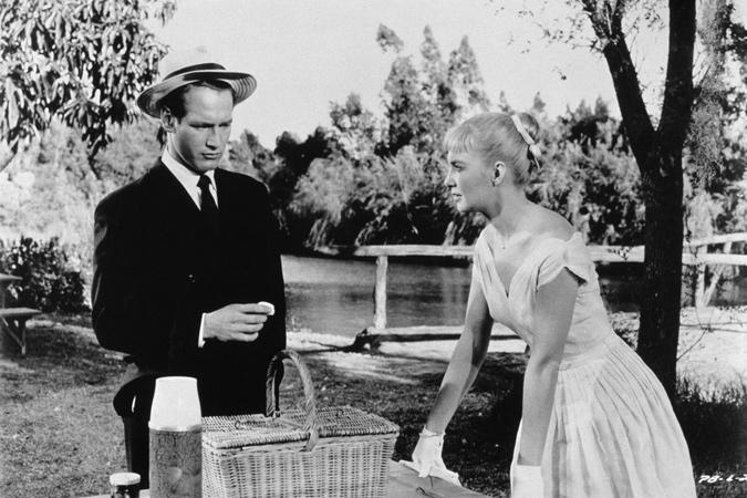 Paul Newman y Joanne Woodward picnic