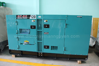 máy phát điện diesel 120kva
