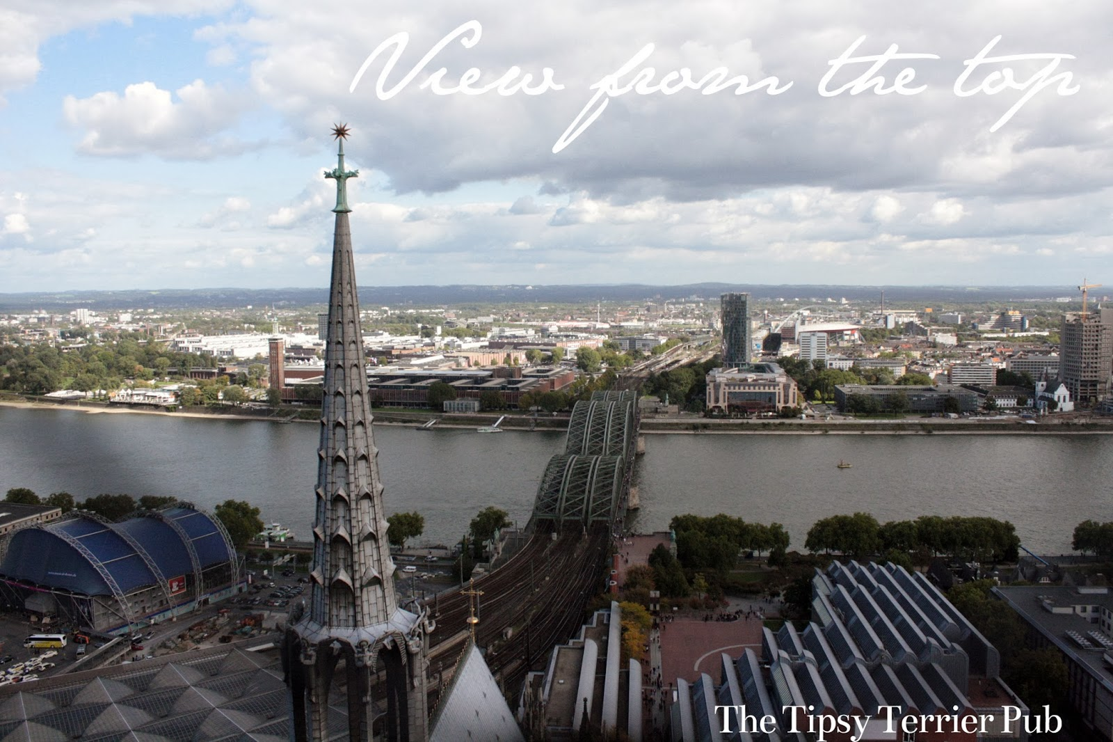 German Gothic Cathedral view - tipsyterrier.blogspot.com
