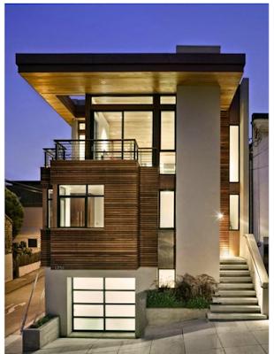 model rumah eropa bergaya modern