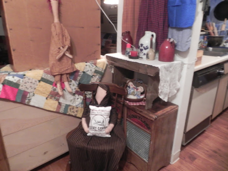 flour sack prairie doll