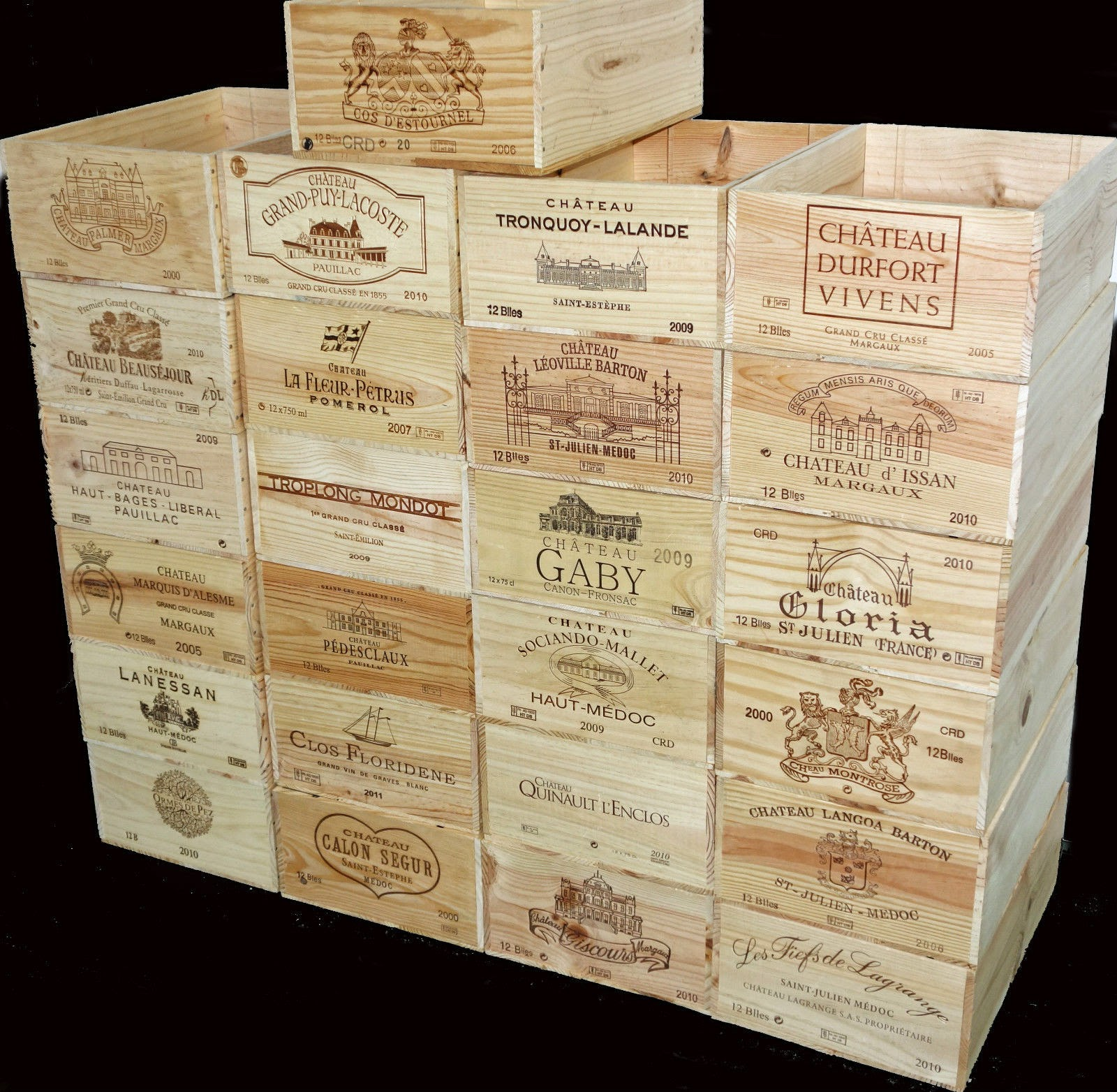 Wooden wine boxes wine crates june 2014 What to do with wine crates