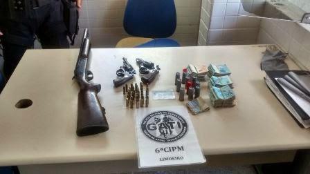 GATI prende homem por posse ilegal de armas em Limoeiro