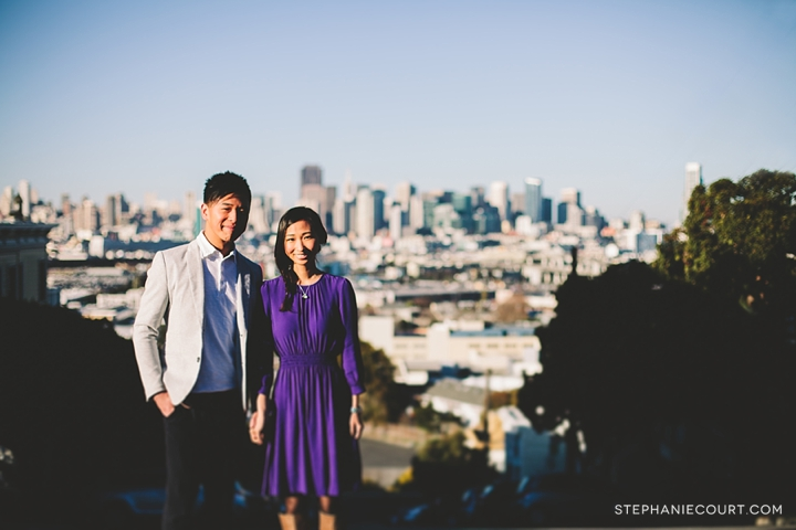 """engagement photos in potrero hill"""