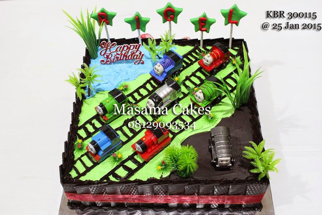 Masama Cakes Thomas Train Birthday Cake For Rigel