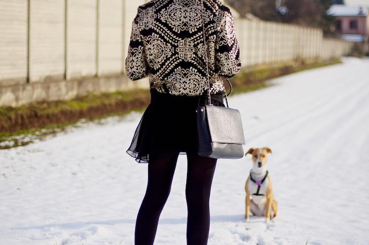 fashion in the snow