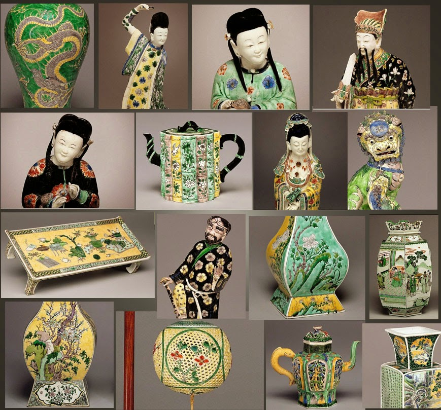 Kangxi Famille Verte Porcelain Collection at the National Gallery of Art Washington