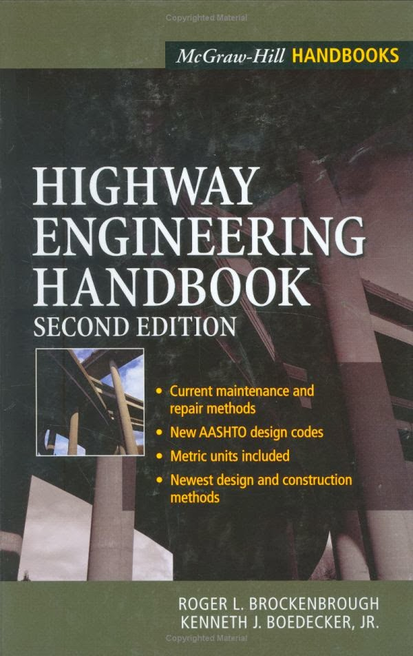 Book: Highway Engineering Handbook by Roger R. Brockenbrough