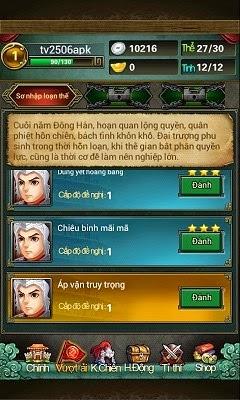 Tải game Tam quốc VTC cho Android