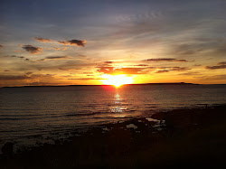Sunset in Mahajanga (NW Madagascar)