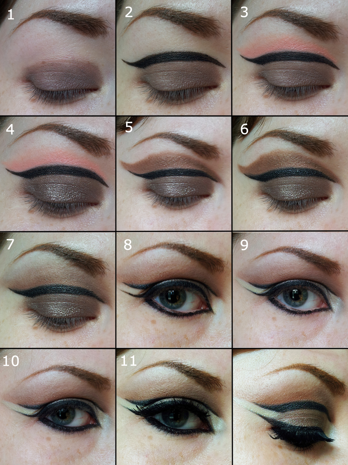 Make it all up illamasqua reflection palette tutorial after priming your lid apply your taupe cream shadow maybelline permanent taupe all over the lid using a flat synthetic shader brush baditri Image collections