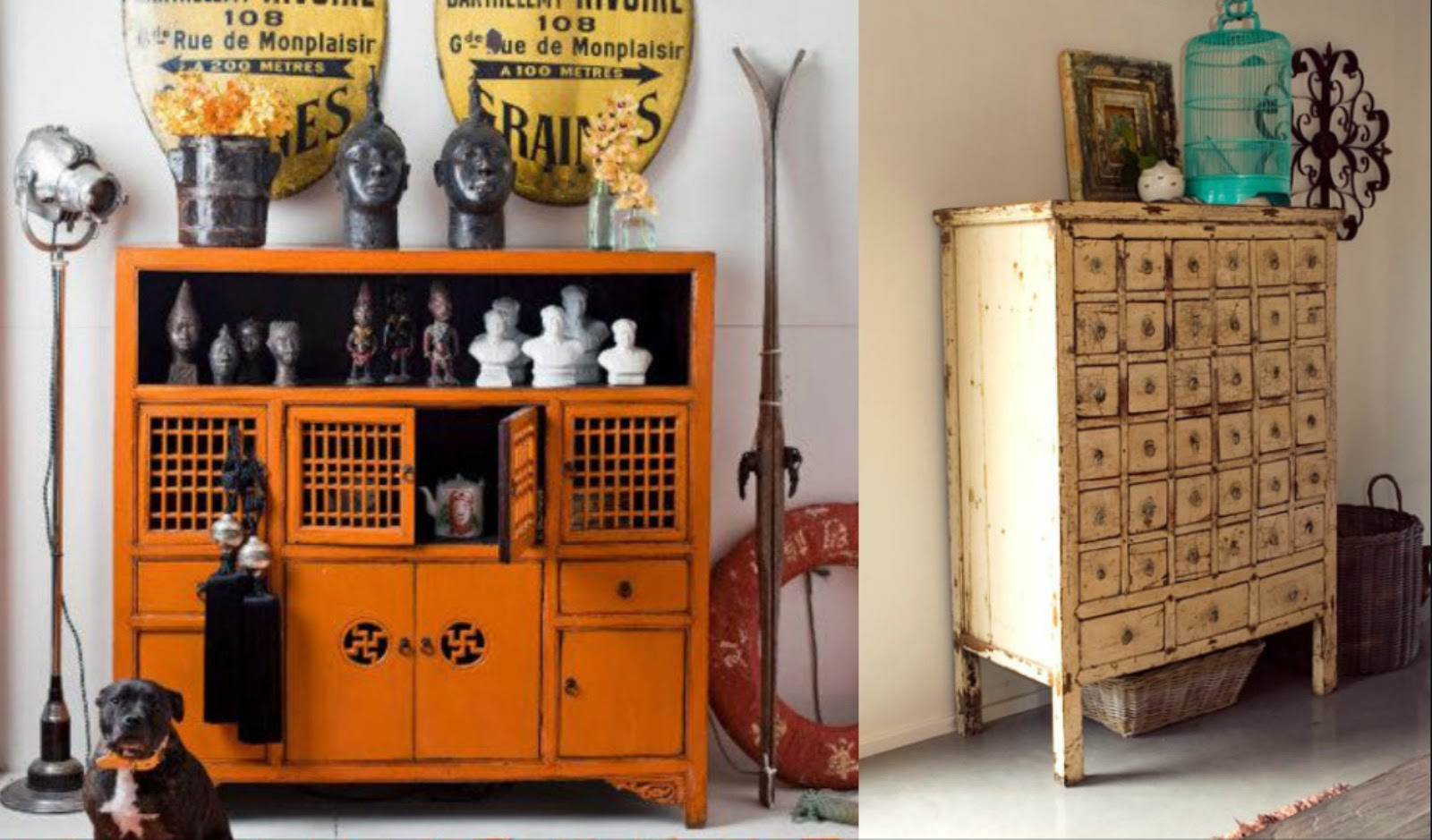 cabinets, antiques, Chinese