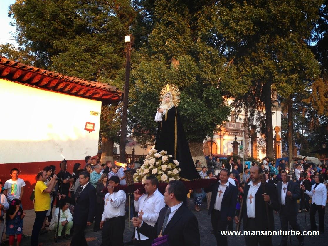 Procesión de los Cristos en Pátzcuaro el Viernes Santo