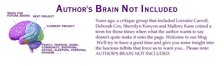 AUTHOR&#39;S BRAIN NOT INCLUDED