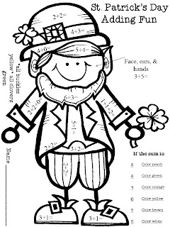 St Patricks Day Coloring Pages Munchkins and Mayhem