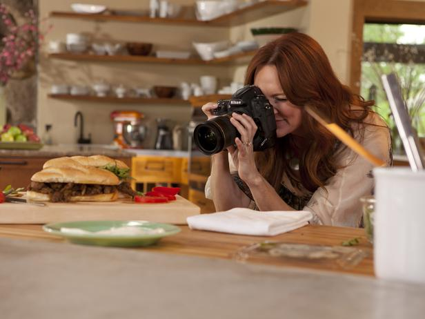 ... Ree shoots a winning closeup of her husband Ladd's favorite sandwich