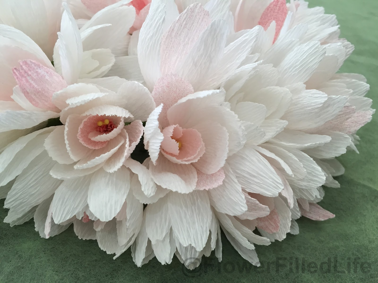 Handcrafted Flower Lei Made Of Tuberose Flowers Flower Filled Life