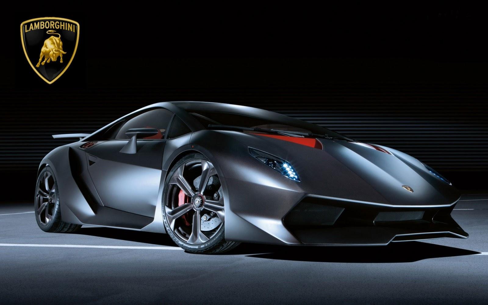 Black New Lamborghini Wallpaper Free HD