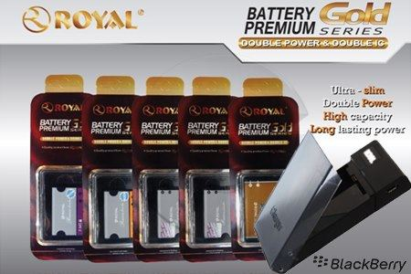 BATTERY ROYAL PREMIUM GOLD (DOUBLE POWER & DOUBLE IC) - JUAL BELI