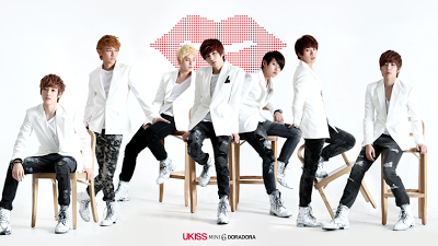 U-KISS ukiss Doradora members pink kiss