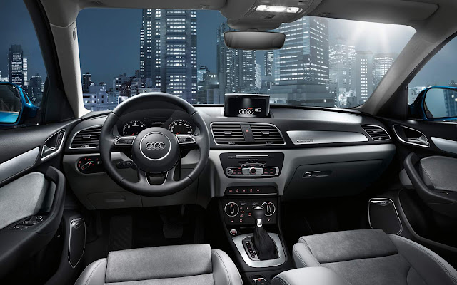 Novo Audi Q3 2016 - interior