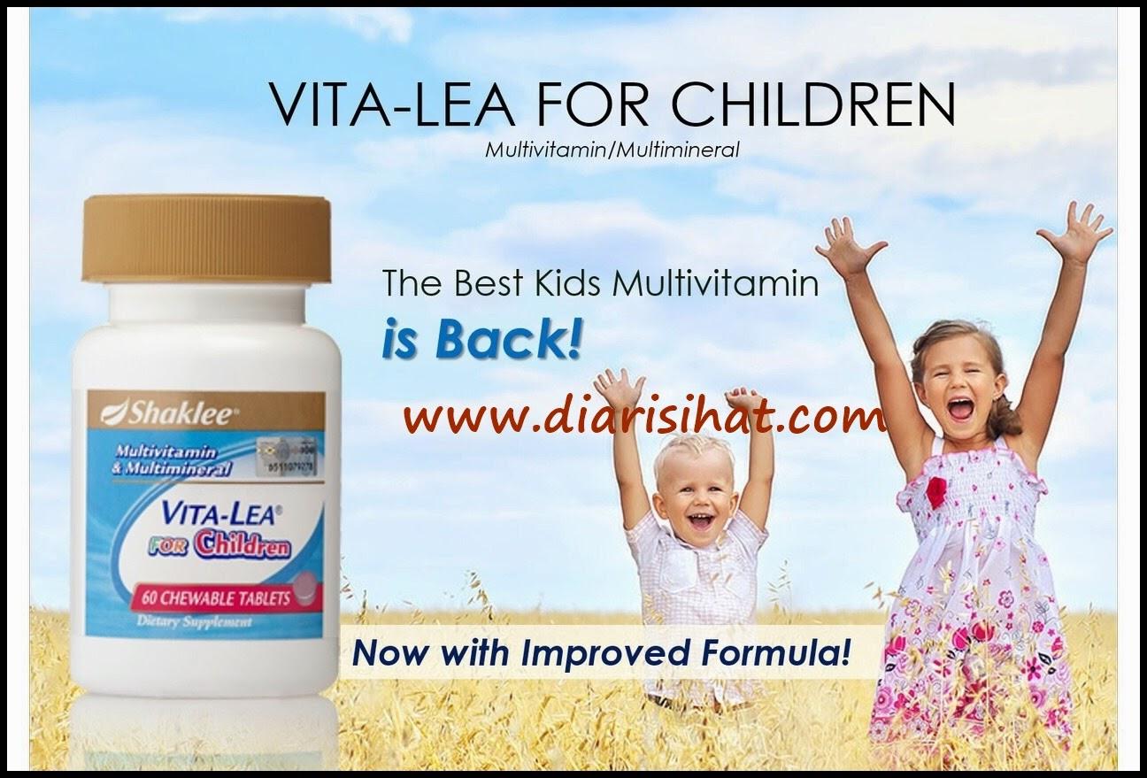 multivitamin kanak kanak