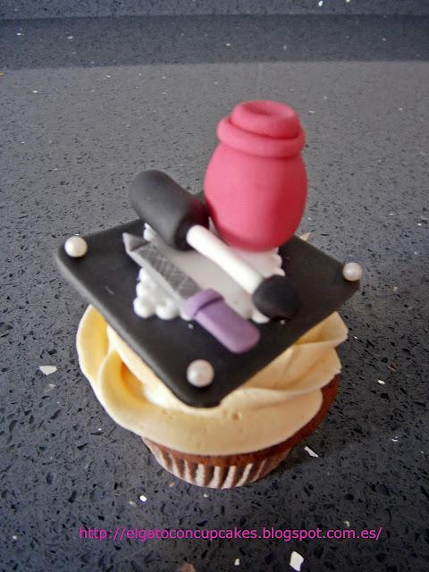 cupcakes pintauñas