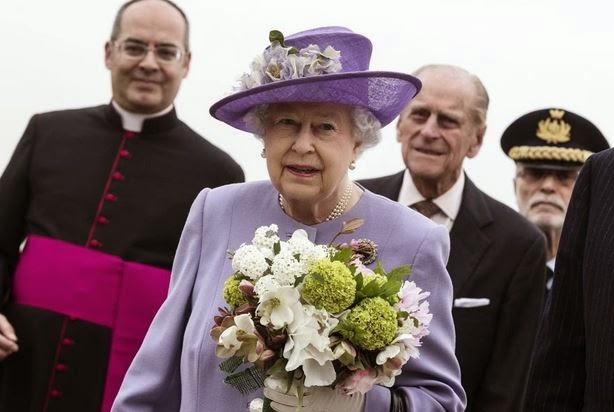 la regina Elisabetta a Roma