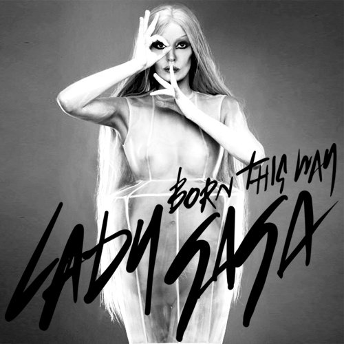lady gaga born this way cd label. Lady GaGa#39;s Born This Way