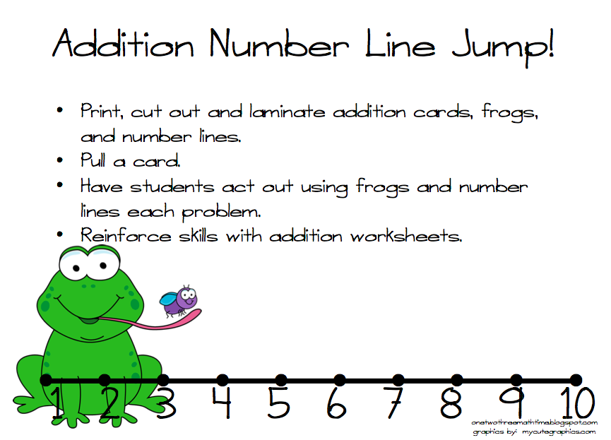 One, Two, Three: Math Time!: March 2013