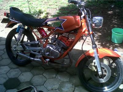Modif Yamaha Xraide