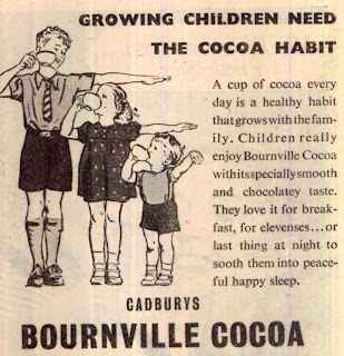 Do cocoa not drugs - 1950 advertising