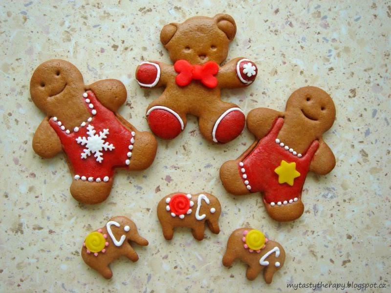 vánoční perníčky / gingerbread cookies
