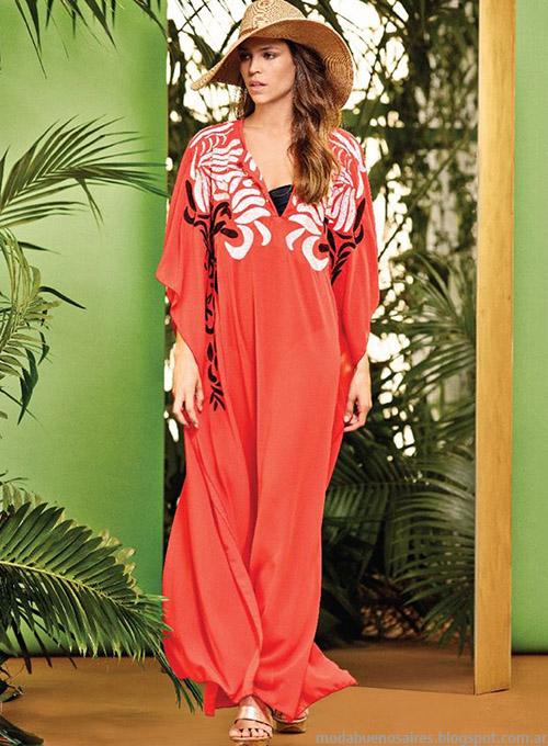 Naima primavera verano 2015 túnicas y vestidos.