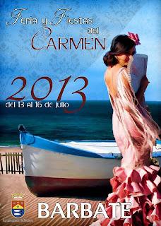 Feria y Fiestas del Carmen 2013 - Barbate