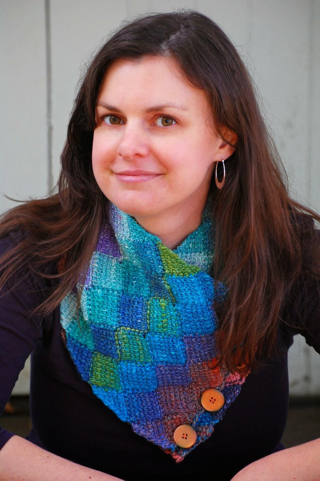 Tunisian crochet entrelac scarf and neck warmer bankloansurffo Gallery
