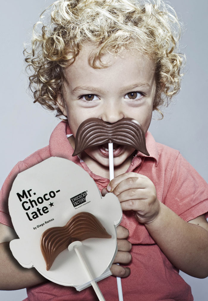 Dark Chocolate Moustaches