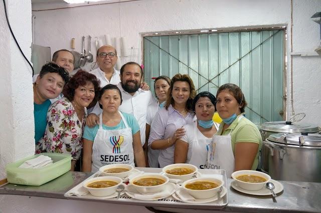 """Con dos nuevos """"Comedores del bienestar"""" respaldan alimentación de la población"""
