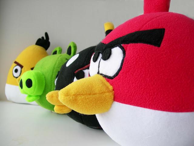 Angry birds сшить