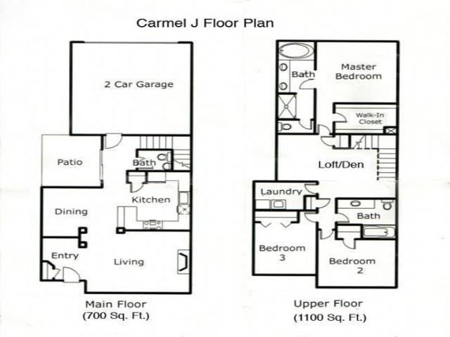 arbor roses home  floor plan
