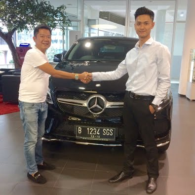 Pembelian GLE 400 AMG a/n Bapak Chandra