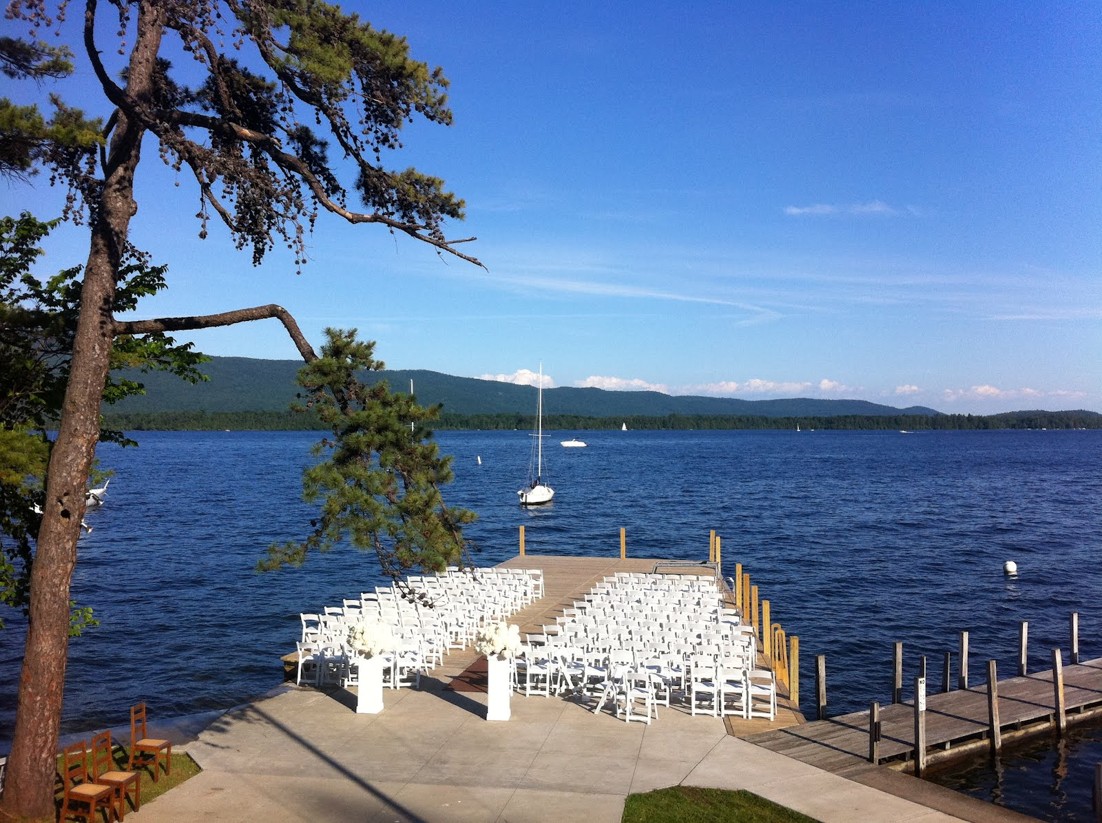 A Picture Perfect Wedding On Lake George