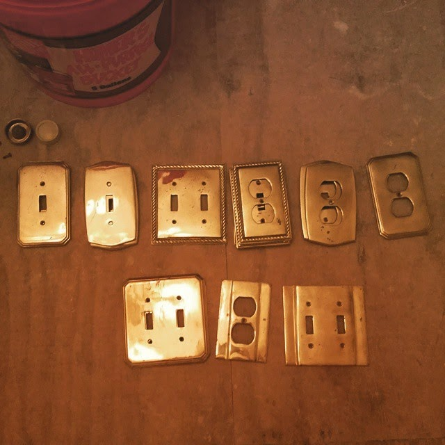 brass outlet covers