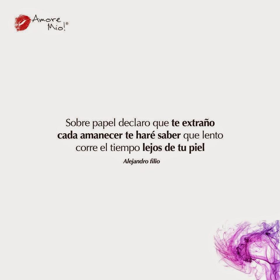 Carteles de Amor Mio con frases bonitas romanticas