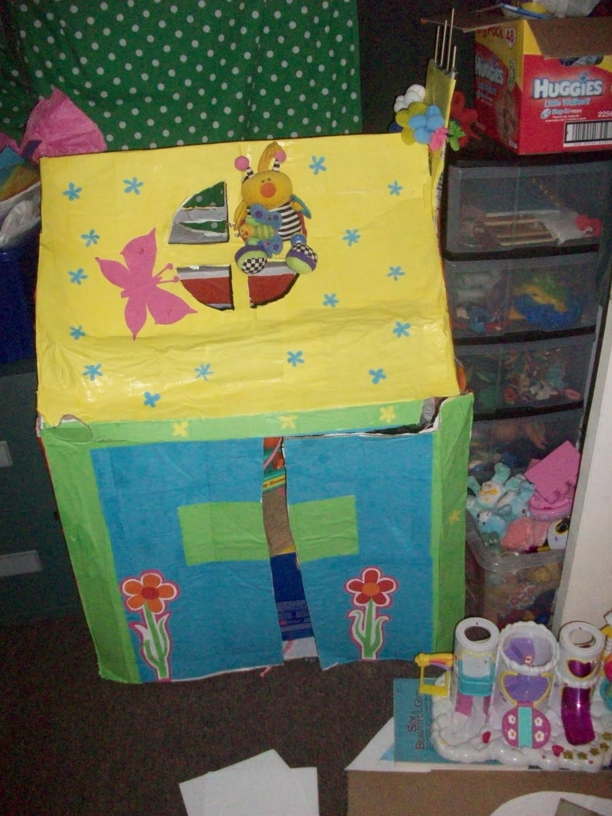 how to make a castle pinata