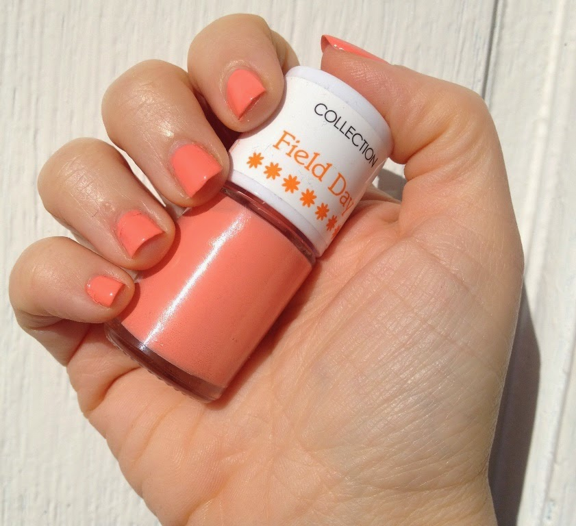 BeautySwot: Collection Field Day Nail Polish In Peach Blossom ...