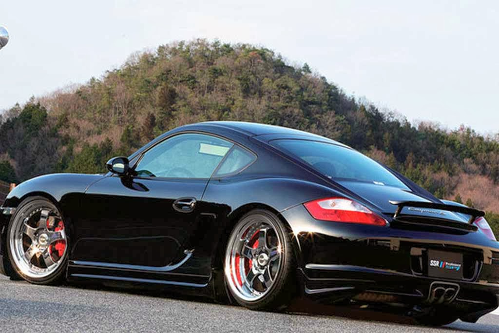 Black Edition Porsche Cayman