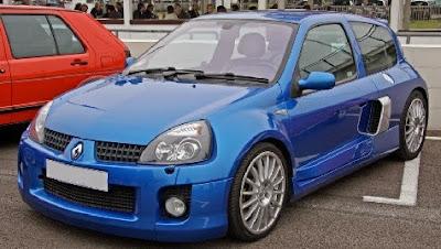 Renault Clio Azul