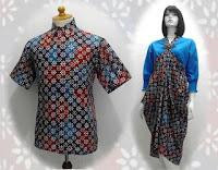 model baju batik terbaru moderen